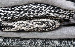 Связанная шерстяная одежда Стоковые Изображения RF