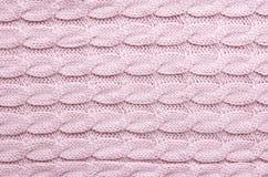 Связанная шерстяная предпосылка текстуры Стоковая Фотография RF