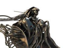 связанное проволокой золотистое archangel Стоковое Изображение