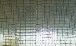 Связанное проволокой стекло Защитное стекло изготовлено главным образом как re огня стоковое фото