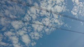 Связанное проволокой sky2 стоковые изображения