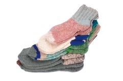 связанные носки Стоковое Фото