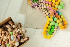 Связанные ожерелья шариков стоковые фото