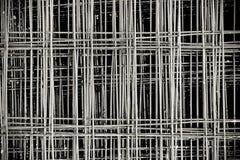 Связанные панели усиливая стали Rebar стоковые фотографии rf