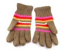 связанные перчатки Стоковая Фотография RF