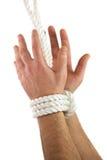 связанные руки Стоковое Изображение RF