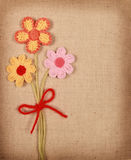 Связанные цветки Стоковое Фото