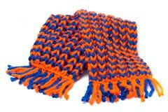 Связанные шарф и крышка Стоковое Фото