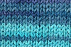 связанные шерсти текстуры Стоковое Фото