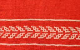 связанные шерсти текстуры Стоковая Фотография RF
