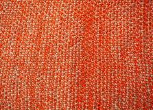 Связанный апельсин одеяла белизна настроения 3 шариков изолированная рождеством Тема зимы, тепла и комфорта Стоковые Фотографии RF