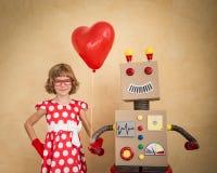 связанный вектор Валентайн иллюстрации s 2 сердец дня Стоковое Изображение