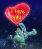 связанный вектор Валентайн иллюстрации s 2 сердец дня иллюстрация штока