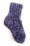 связанный носок Стоковое Изображение RF