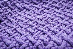 связанный фиолет Стоковые Фото