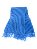 связанный шарф теплый Стоковая Фотография