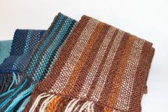 Связанный шарф стоковое фото rf