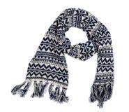 связанный шарф Стоковое Фото