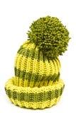 Связанный шерстяной шлем Стоковые Изображения