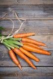 Связанный RM морковей стоковая фотография