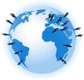 Связи мирового бизнеса Стоковое фото RF