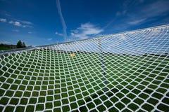 Связи ловят сетью небо перемета плетения цепи сети сети Стоковые Изображения RF
