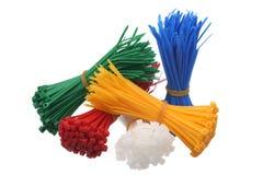 связи пластмассы кабеля Стоковая Фотография