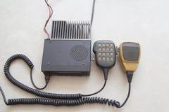 Связи радиотелеграфа радио Стоковая Фотография RF