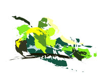 Связка винограда чертежа Стоковое Изображение