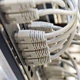связывает серого сервера шкафа заплаты панели стоковые фотографии rf
