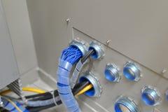 Связывать проволокой электриков стоковые фотографии rf