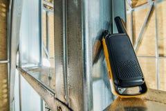 Связь звукового кино Walkie стоковое фото rf