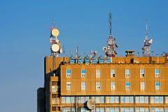 связь здания Стоковые Фотографии RF