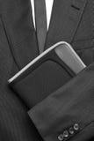 Связь и папка костюма Стоковые Фотографии RF