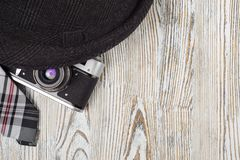 Связь камеры шляп стоковое изображение