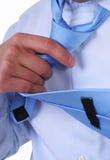 связь руки Стоковые Фотографии RF