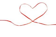 связь сердца подарка Стоковое Фото
