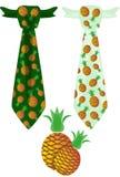 Связь с ананасом Стоковые Фото