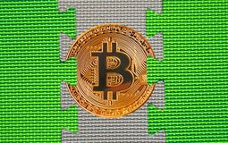 Связь blockchain cryptocurrency Bitcoin стоковые фотографии rf