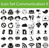 Связь II значка установленная бесплатная иллюстрация