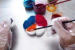 Связ-краска ткани Стоковая Фотография RF