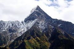 Святая гора в Тибете стоковые изображения