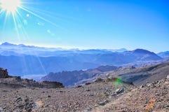 Святая гора Синай Стоковая Фотография RF