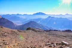 Святая гора Синай Стоковое Фото