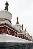 Святая Земля буддиста монастыря Kumbum Стоковое Изображение