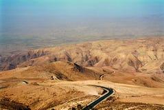 Святая Земля, Mt Nebo, Джордан Стоковая Фотография