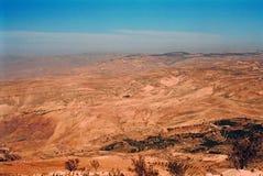 Святая Земля, Mt Nebo, Джордан Стоковые Изображения