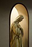Святая мать в тиши стоковая фотография rf