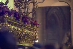 Святая неделя, Испания стоковые фото