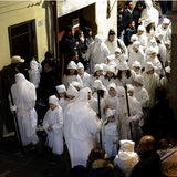 Святая неделя в Сардинии Стоковая Фотография RF